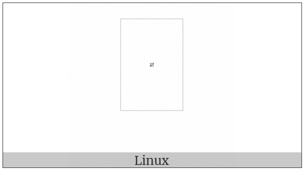 Tangut Component-082 on various operating systems