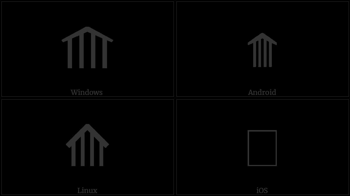 Upwards Quadruple Arrow on various operating systems