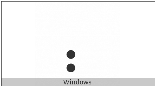 Braille Pattern Dots-37 on various operating systems