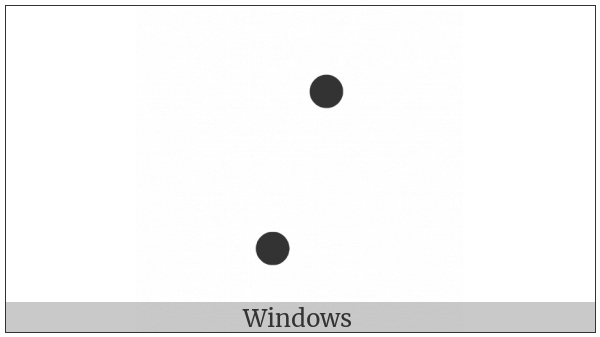 Braille Pattern Dots-47 on various operating systems