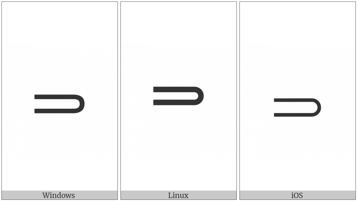 Right Double Arrow With Rounded Head on various operating systems