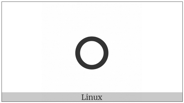 Duployan Letter Aou on various operating systems