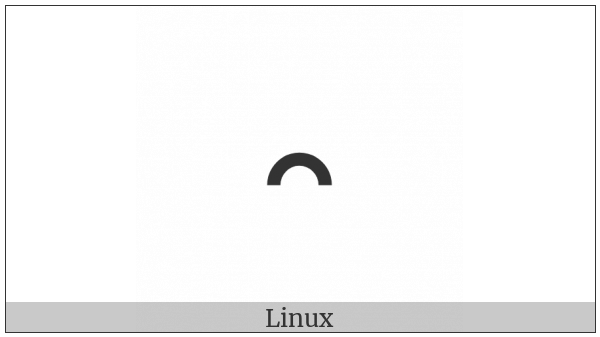 Duployan Letter Ui on various operating systems