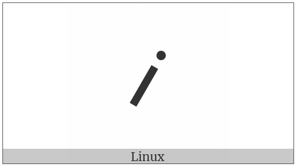 Duployan Letter Long I on various operating systems