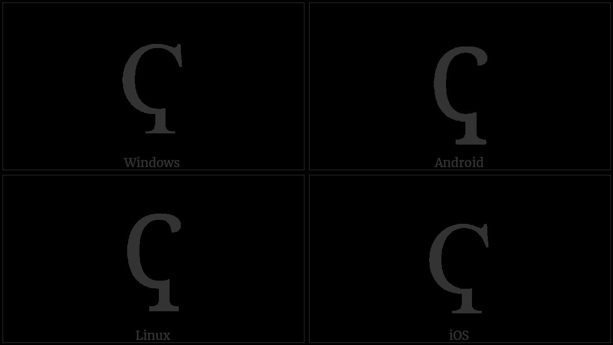 CYRILLIC CAPITAL LETTER KOPPA utf-8 character