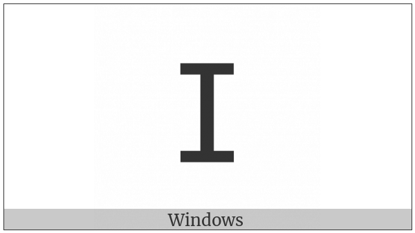 Tifinagh Letter Yazh on various operating systems
