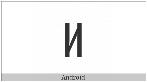 Tifinagh Letter Yal on various operating systems
