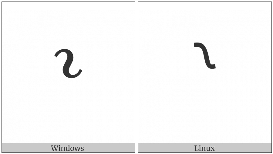 Right Transposition Bracket on various operating systems