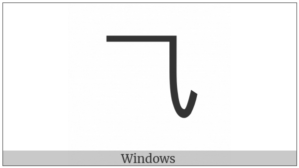 Cjk Radical Second Three on various operating systems