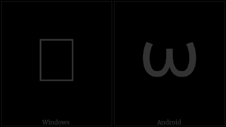 Greek Instrumental Notation Symbol-8 on various operating systems
