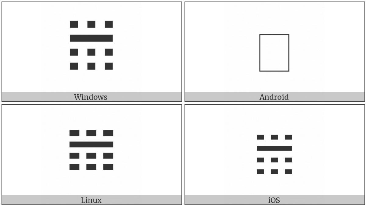 Tetragram For Watch on various operating systems