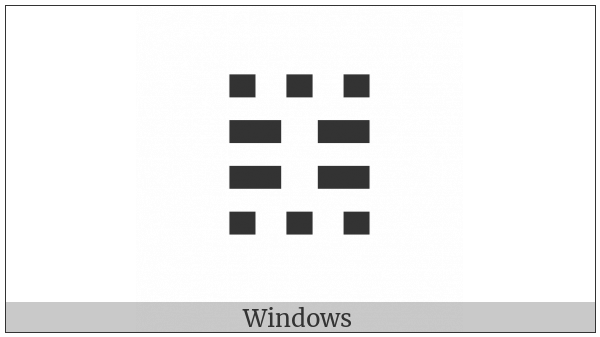 Tetragram For Exhaustion on various operating systems