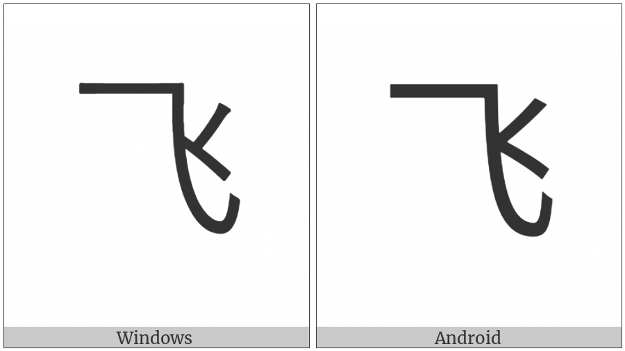 Cjk Radical C-Simplified Fly on various operating systems