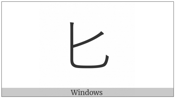 Kangxi Radical Spoon on various operating systems