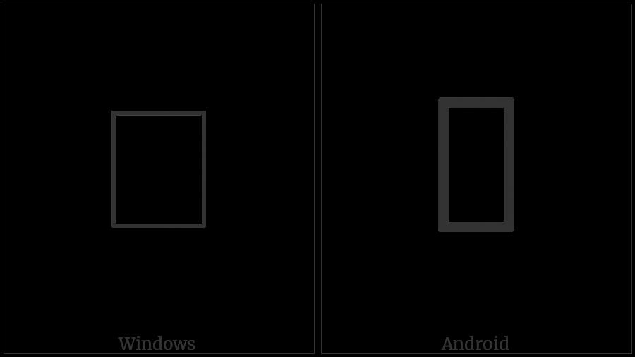 Signwriting Hand-Circle Index Hinge on various operating systems