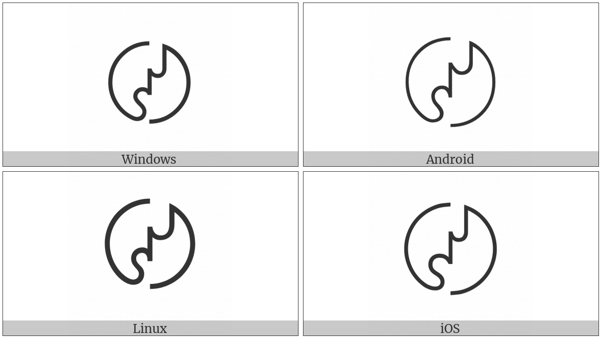 Japanese Industrial Standard Symbol on various operating systems