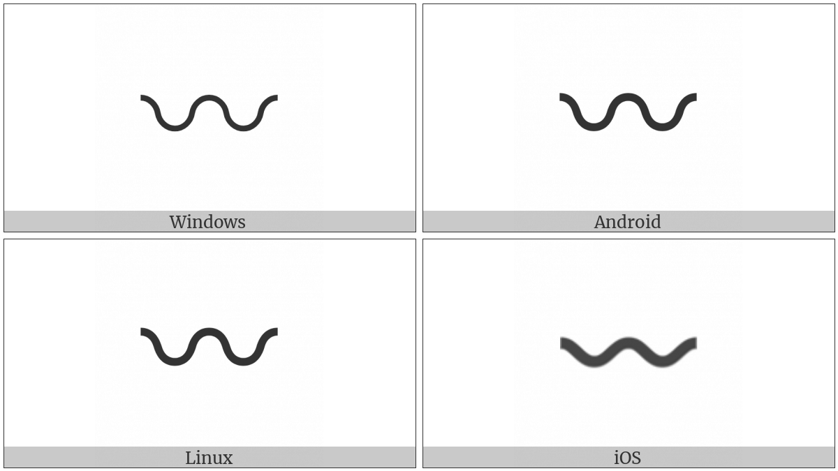 Wavy Dash on various operating systems