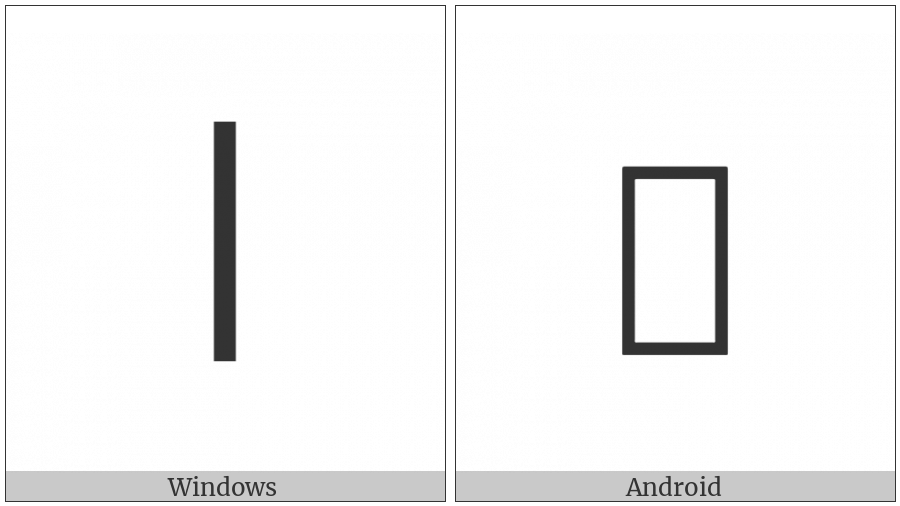Ideographic Annotation Linking Mark on various operating systems