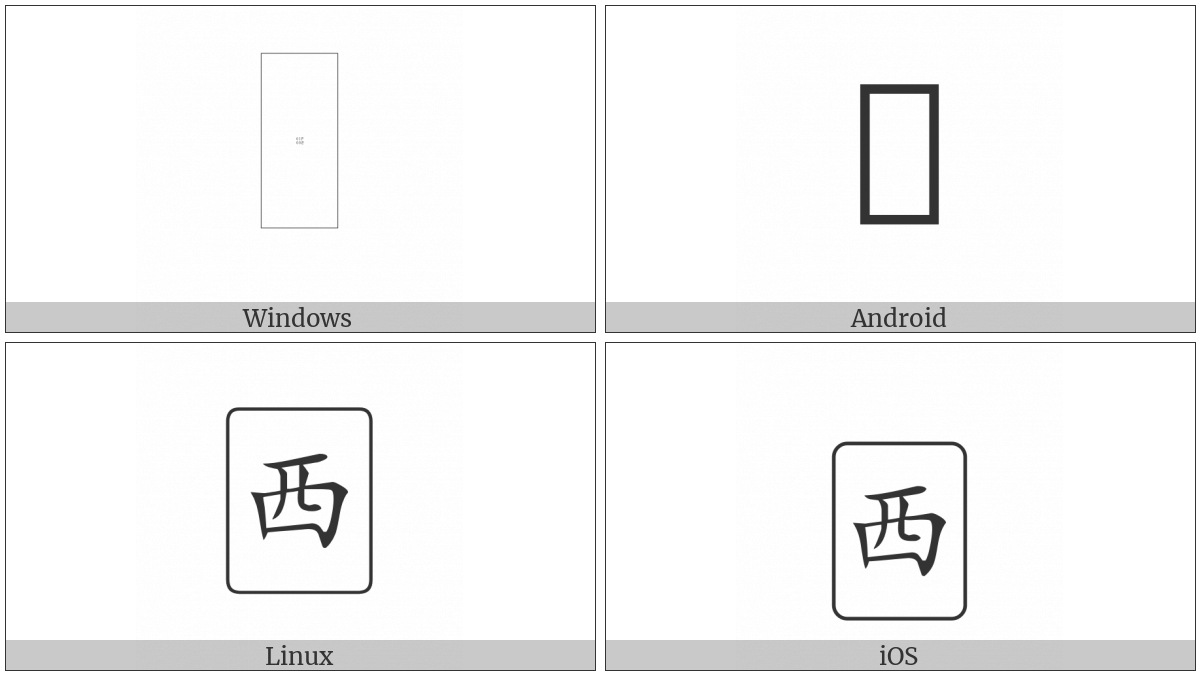 Mahjong Tile West Wind on various operating systems