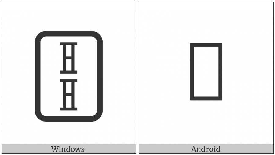 Mahjong Tile Two Of Bamboos on various operating systems
