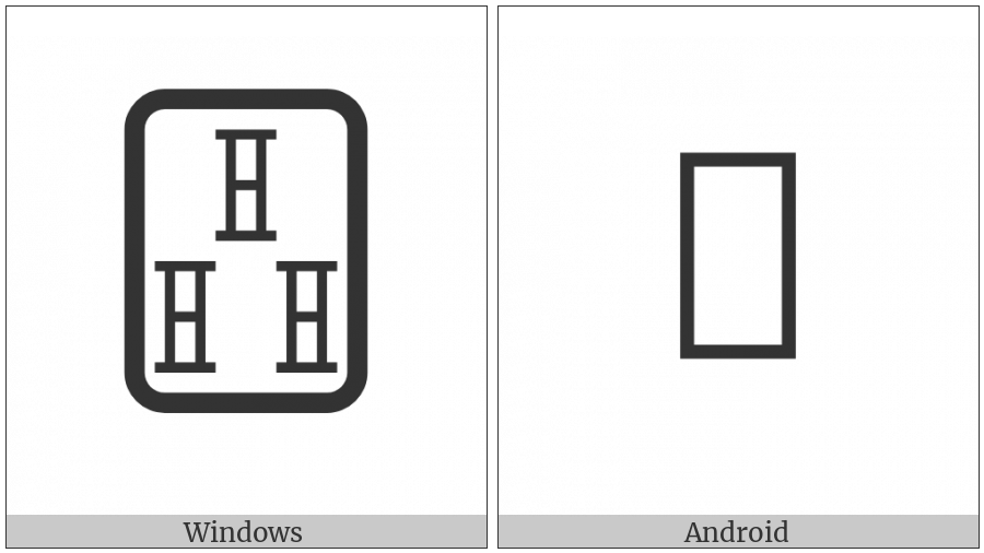 Mahjong Tile Three Of Bamboos on various operating systems