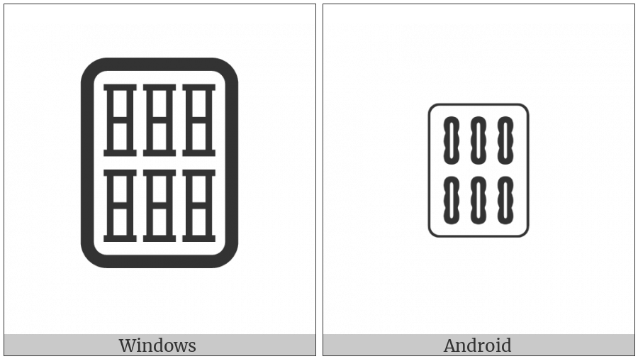 Mahjong Tile Six Of Bamboos on various operating systems