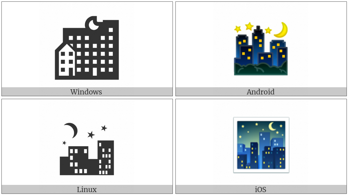 Night With Stars on various operating systems