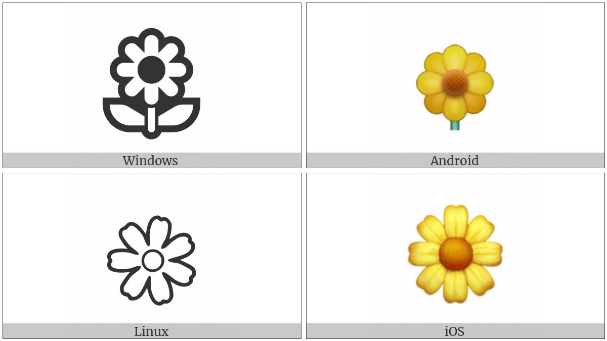 Blossom on various operating systems
