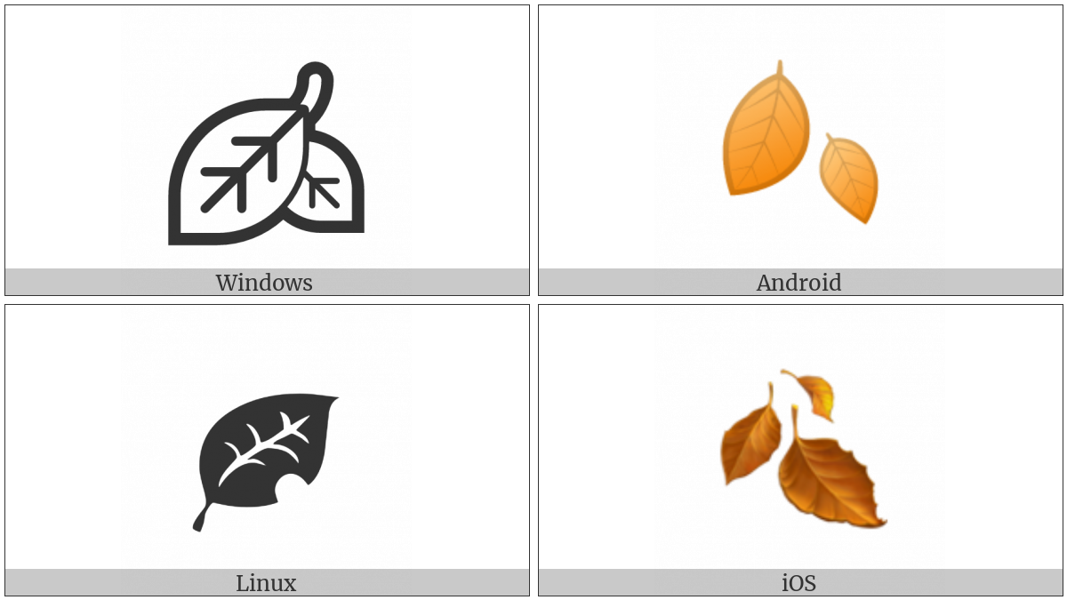 Fallen Leaf on various operating systems