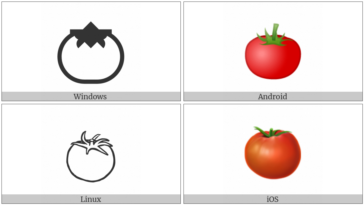 Tomato on various operating systems