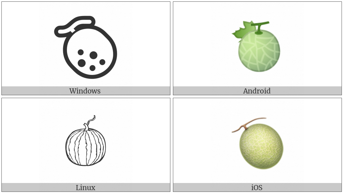 Melon on various operating systems