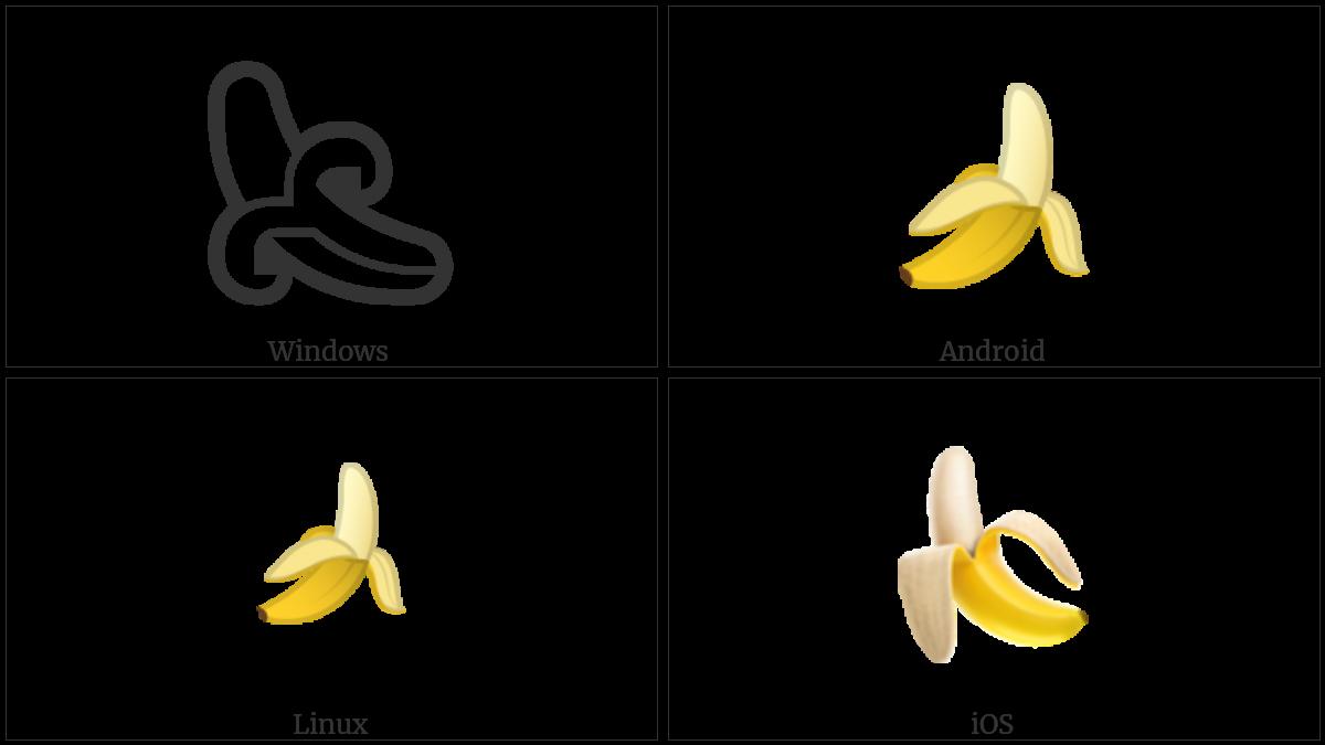 Banana on various operating systems