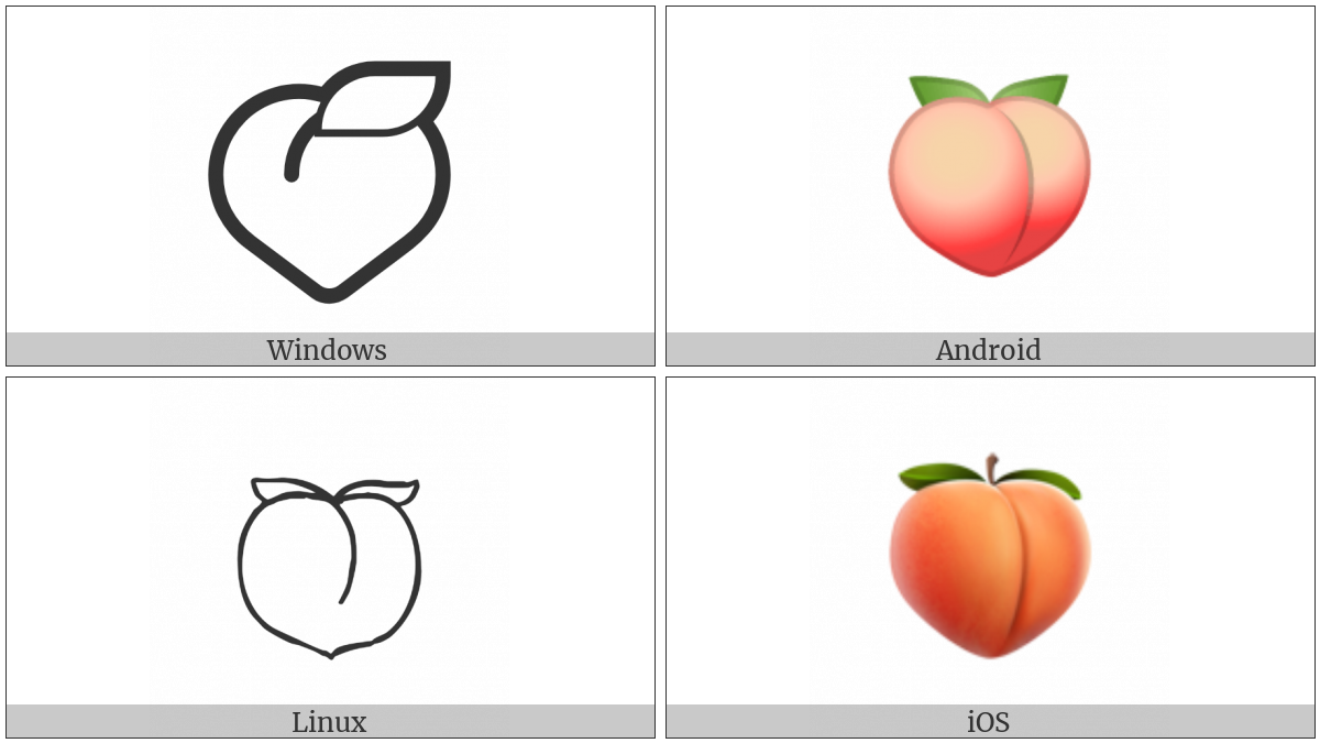 Peach on various operating systems