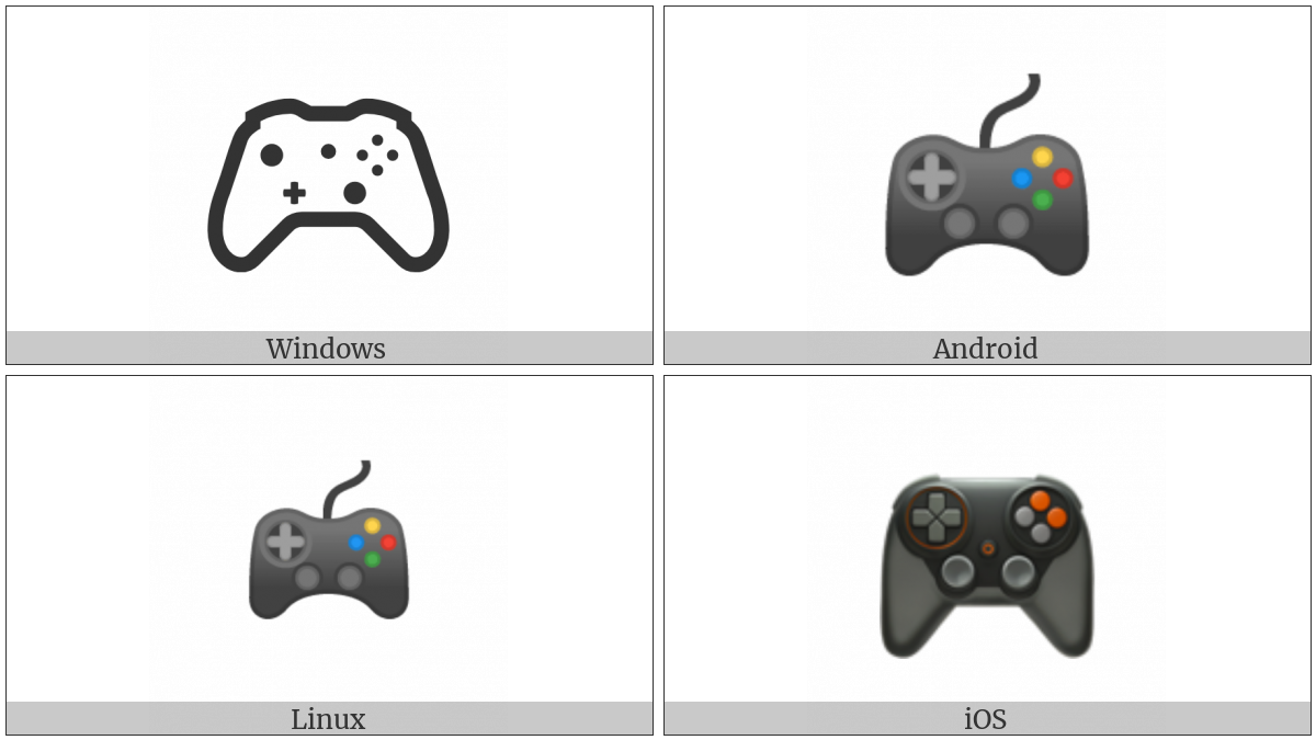 Video Game on various operating systems