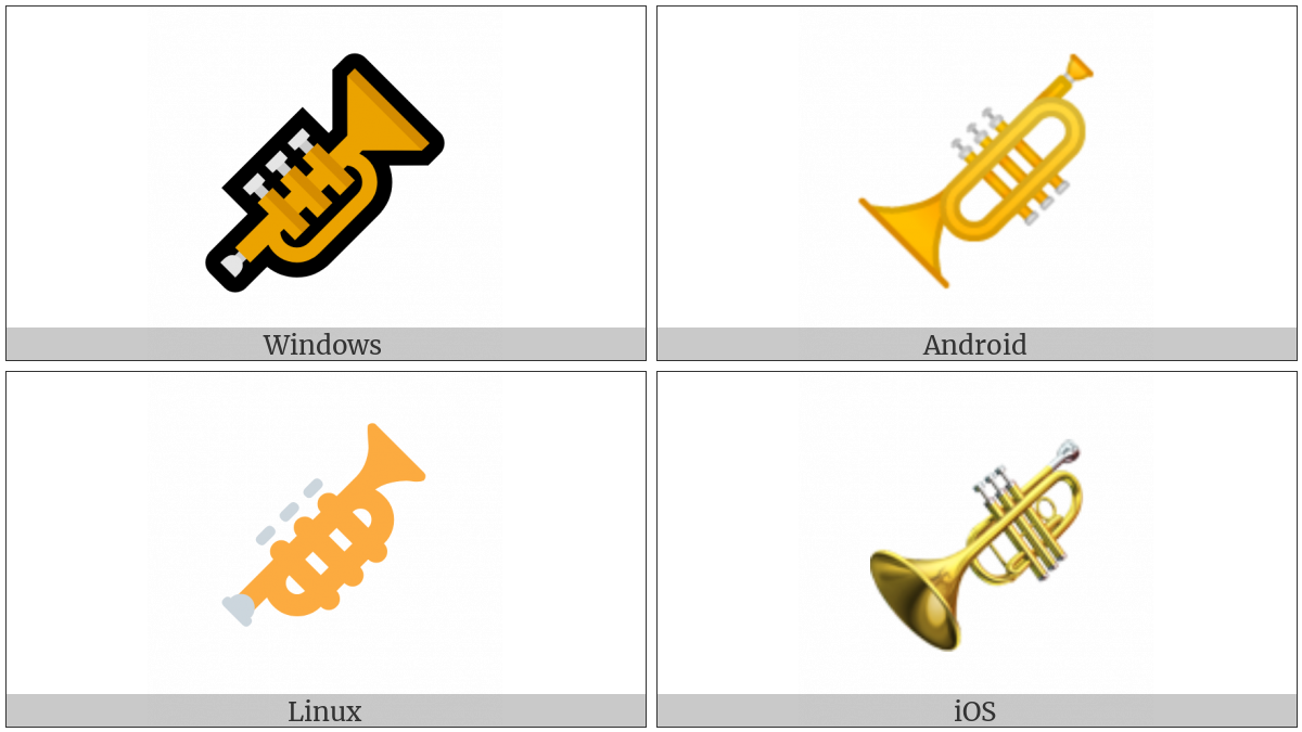 Trumpet on various operating systems