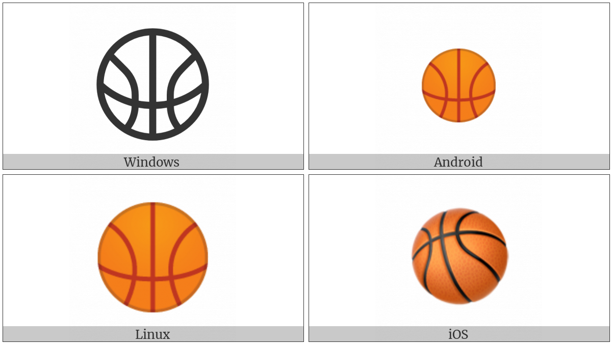 Basketball And Hoop on various operating systems
