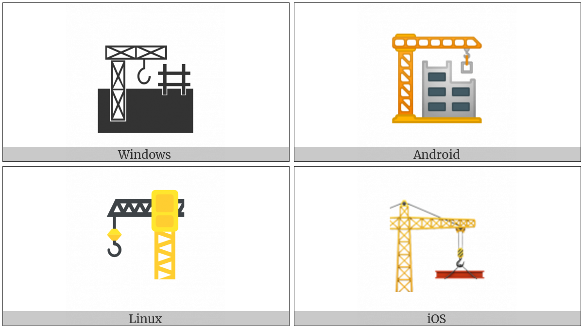 Building Construction on various operating systems