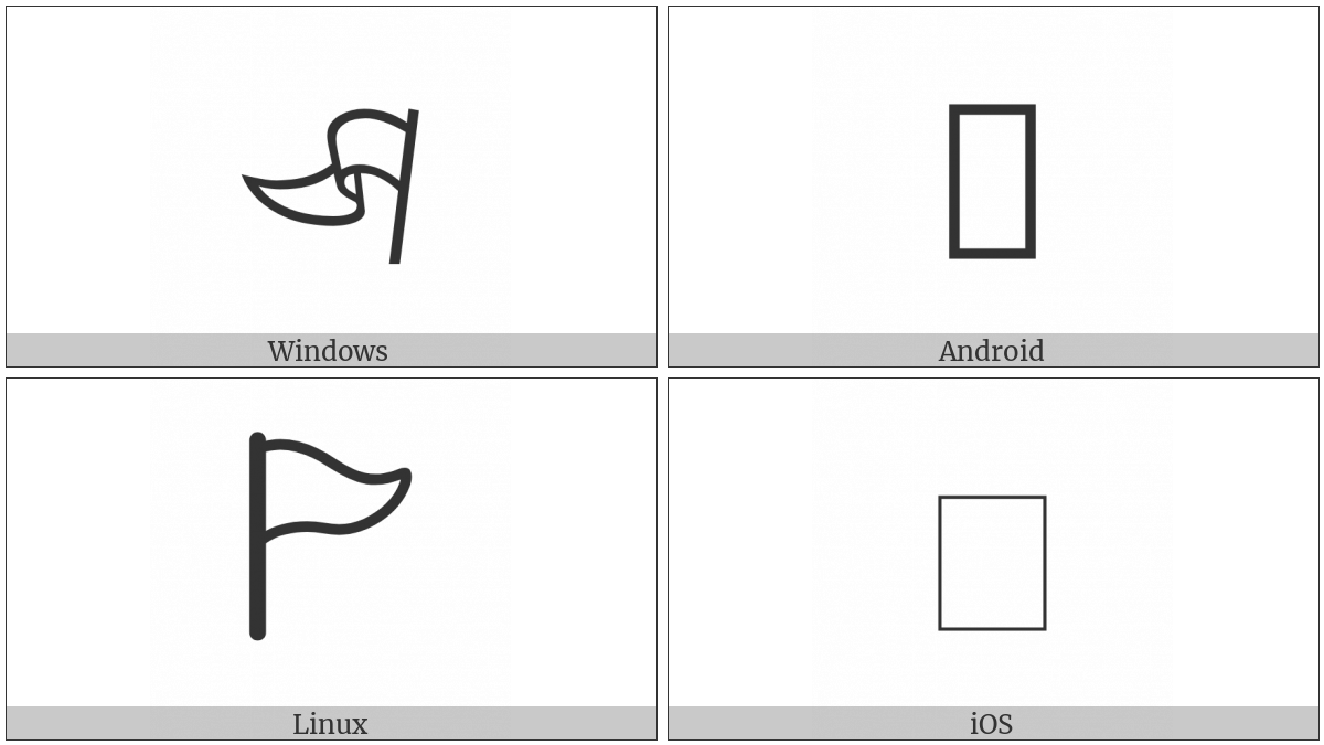White Pennant on various operating systems