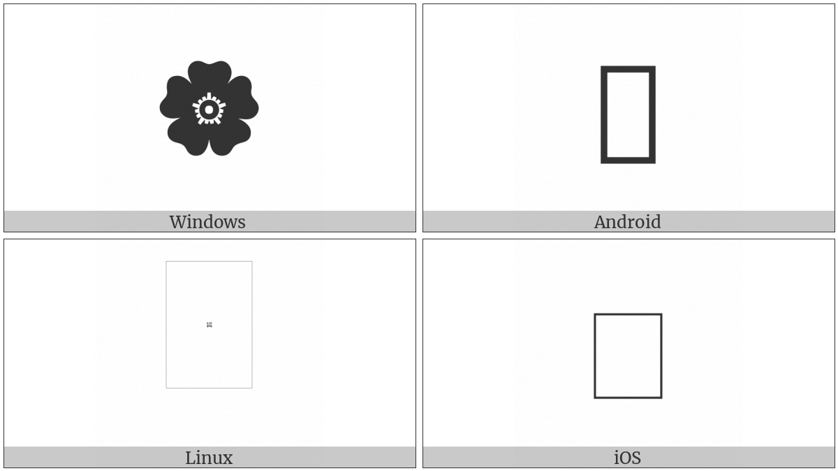 Black Rosette on various operating systems