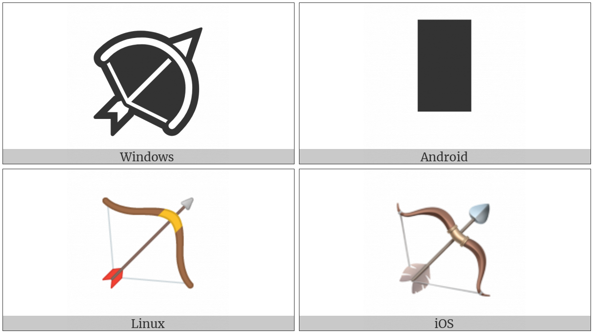 Bow And Arrow on various operating systems