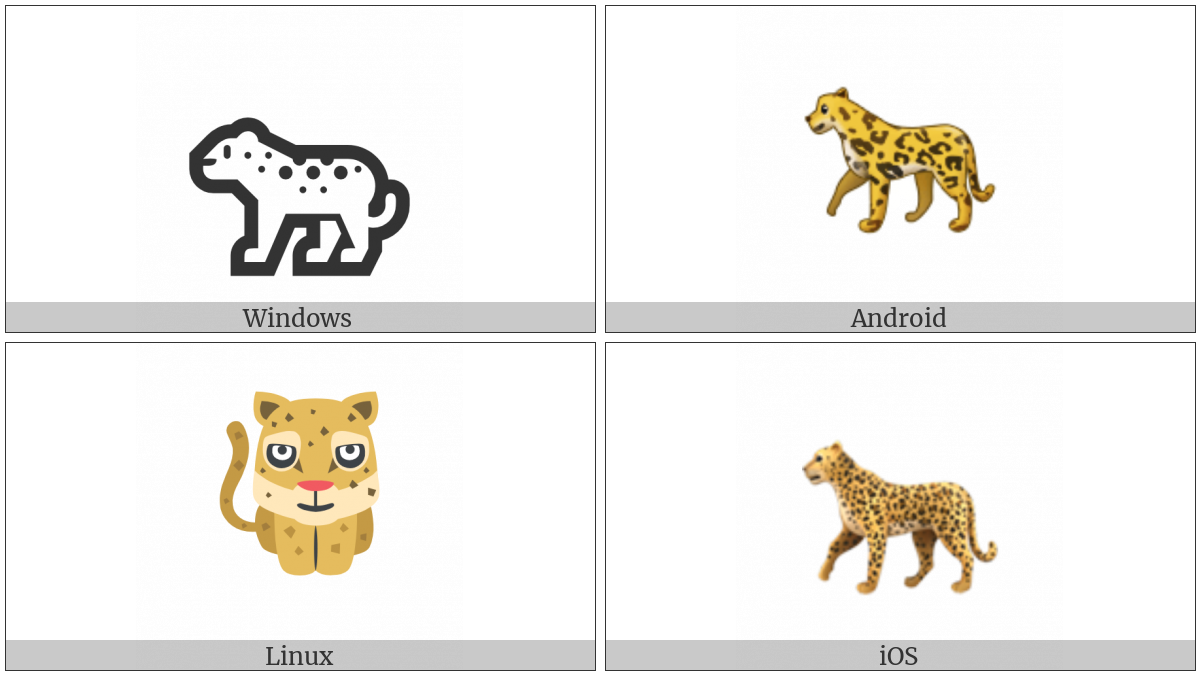 Leopard on various operating systems