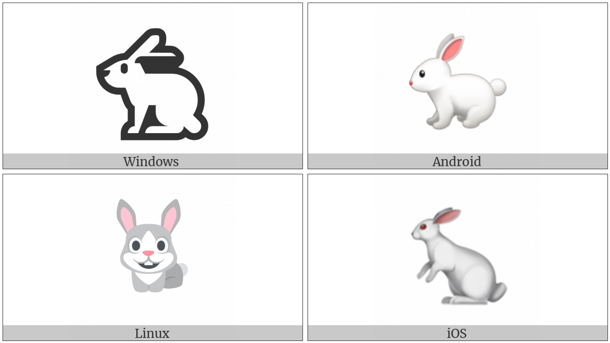 Rabbit on various operating systems