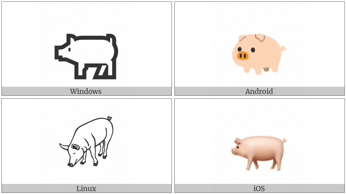 Pig on various operating systems