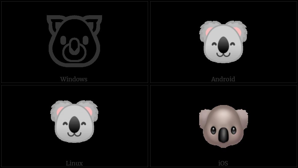 Koala on various operating systems