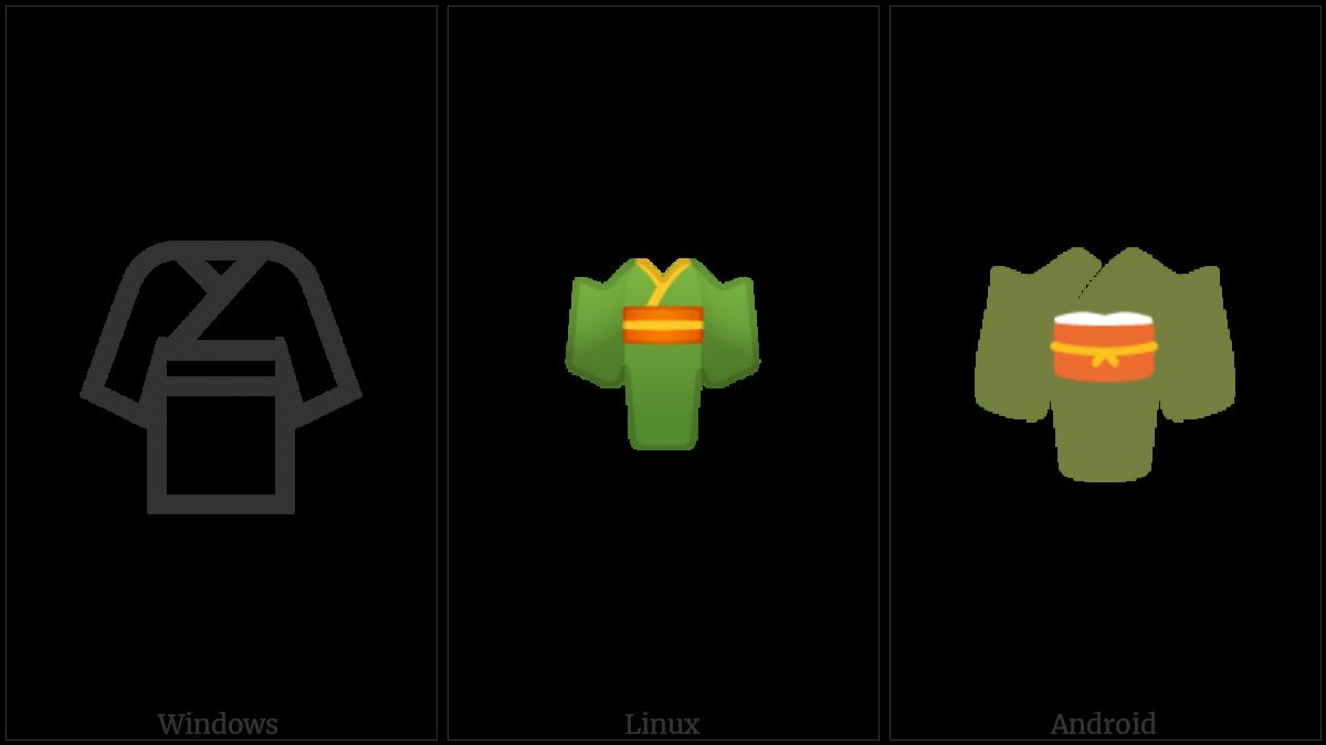 Kimono on various operating systems