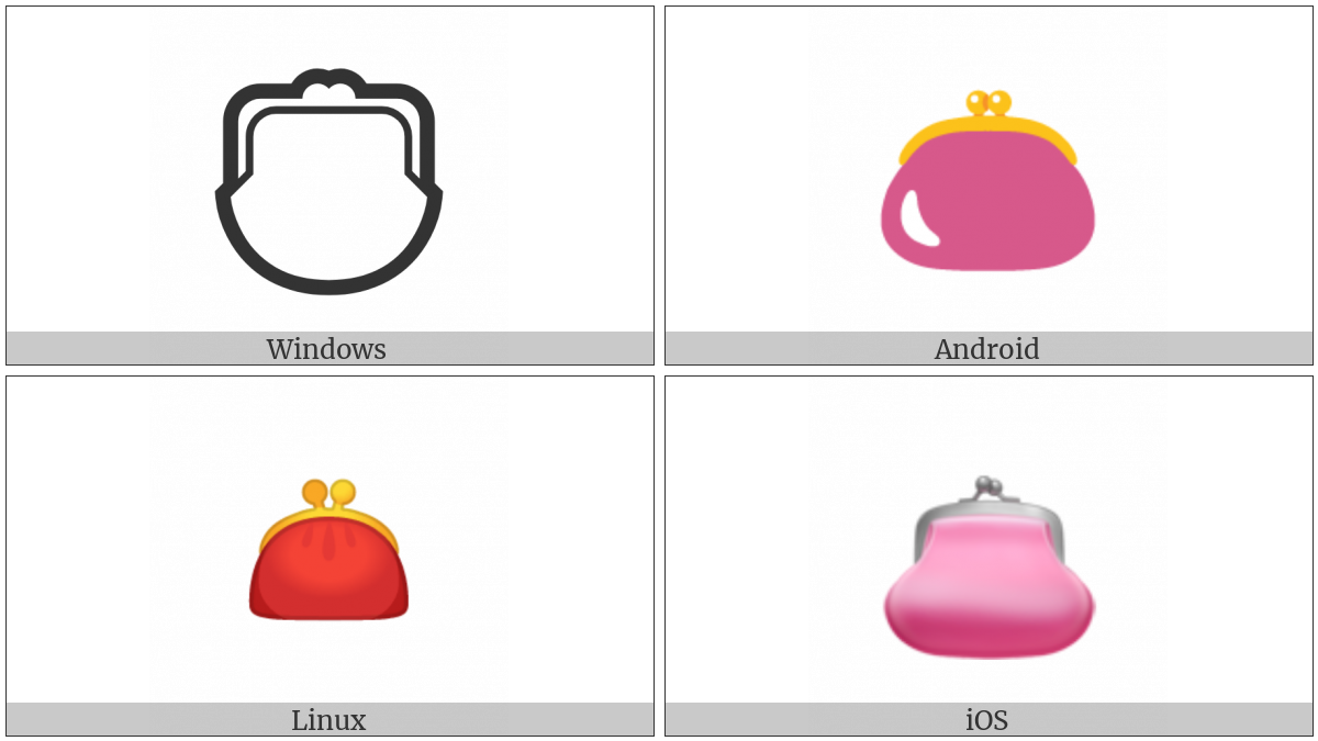 Purse on various operating systems