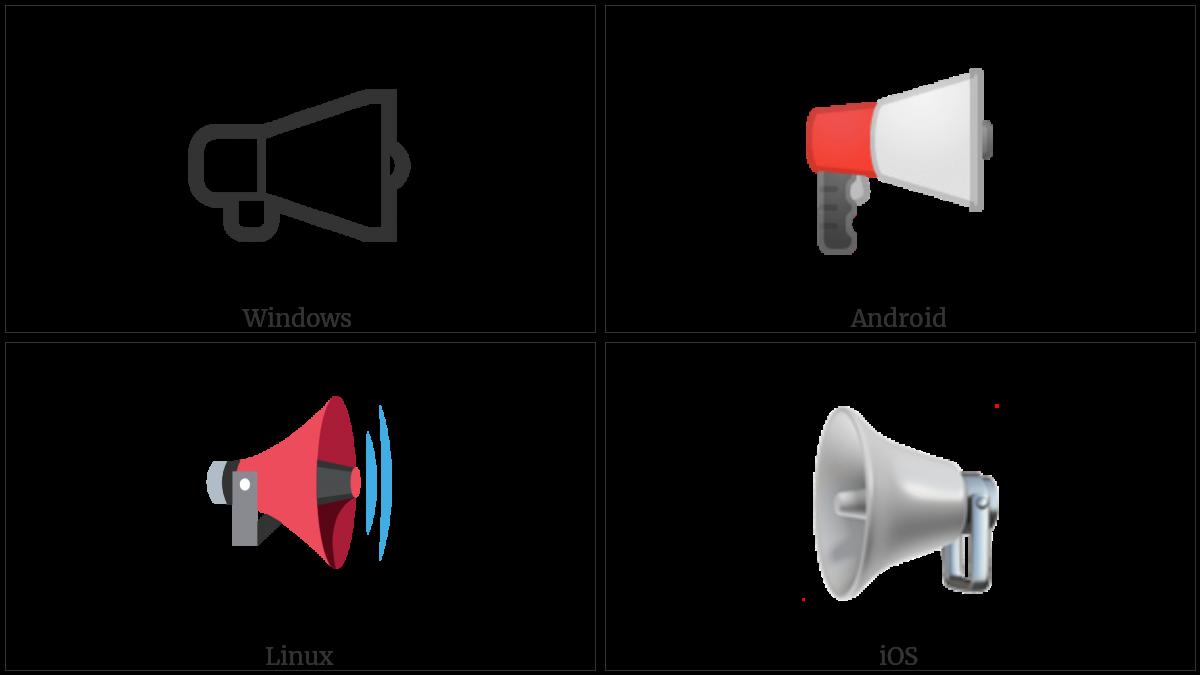 Public Address Loudspeaker on various operating systems