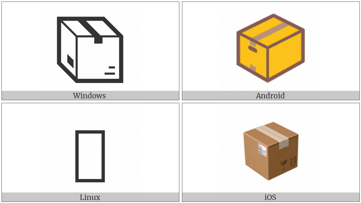 Package on various operating systems