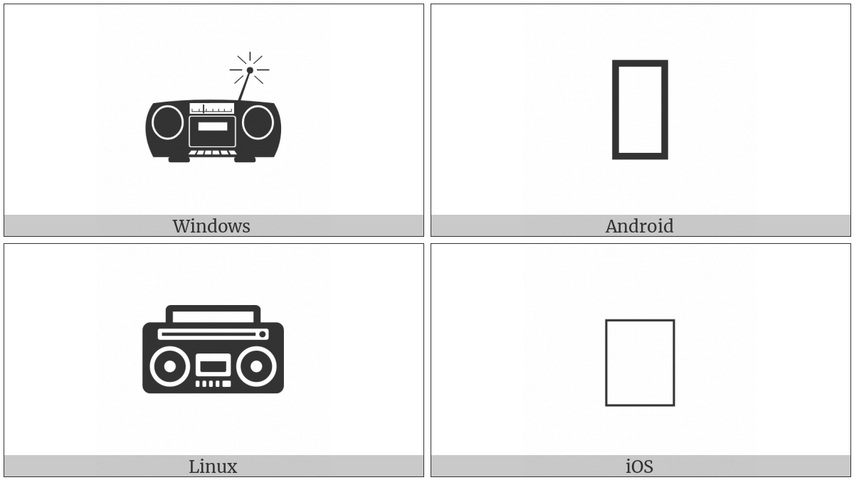 Portable Stereo on various operating systems
