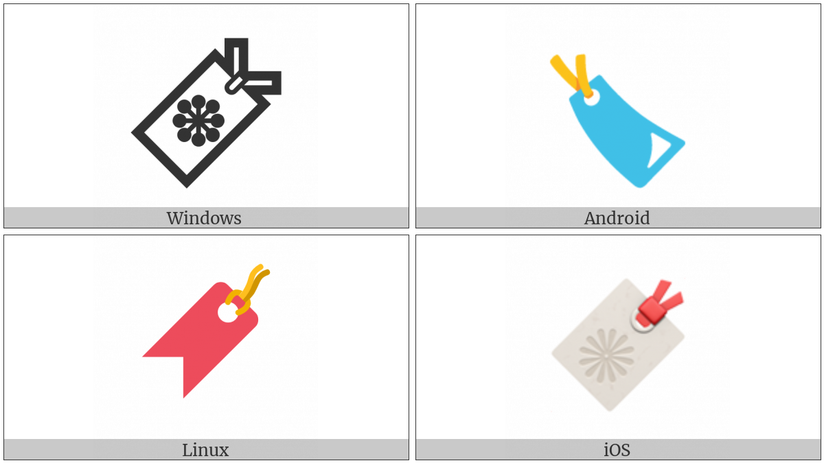 Bookmark on various operating systems